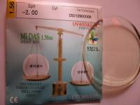 ND=1.56 HMC Полимерные линзы (повышенной прочности)